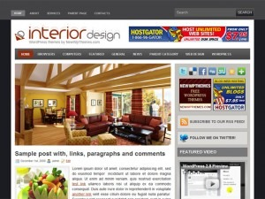Template WordPress Interior Design
