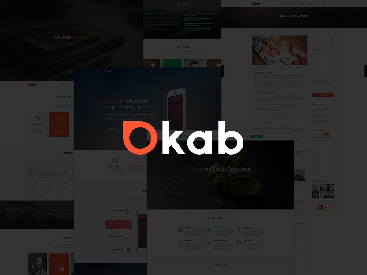 Template WordPress OKAB