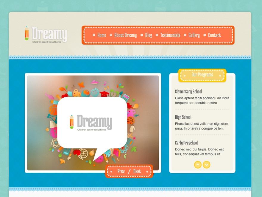 Theme WordPress Dreamy Child