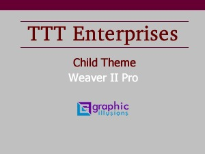Theme WordPress Weaver ii Child