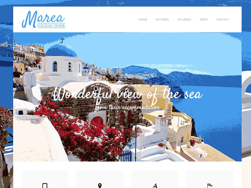 WordPress theme Marea