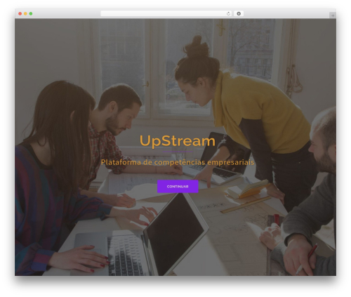 WordPress theme Sydney - upstream.pt