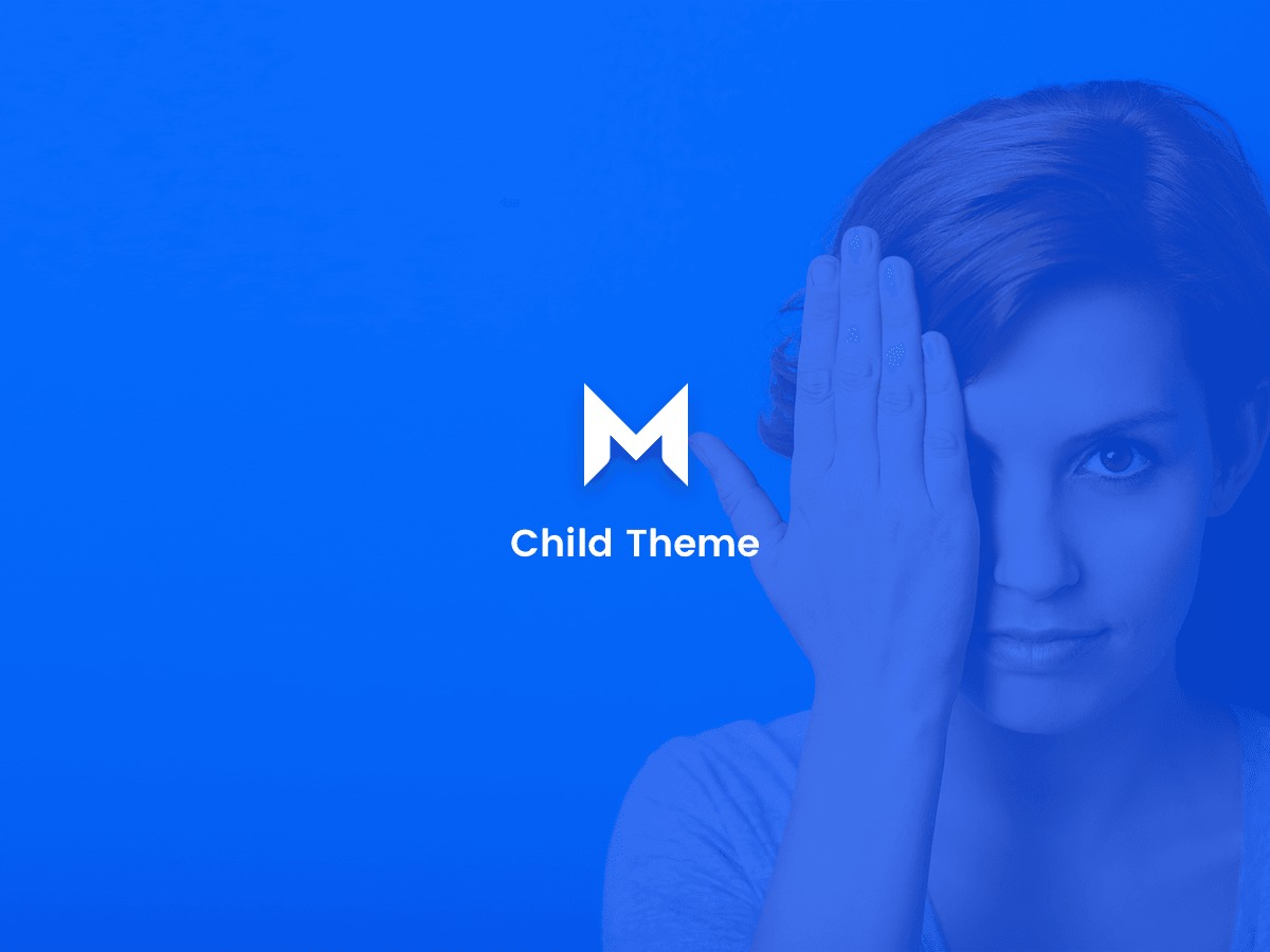 WordPress website template Movedo Child