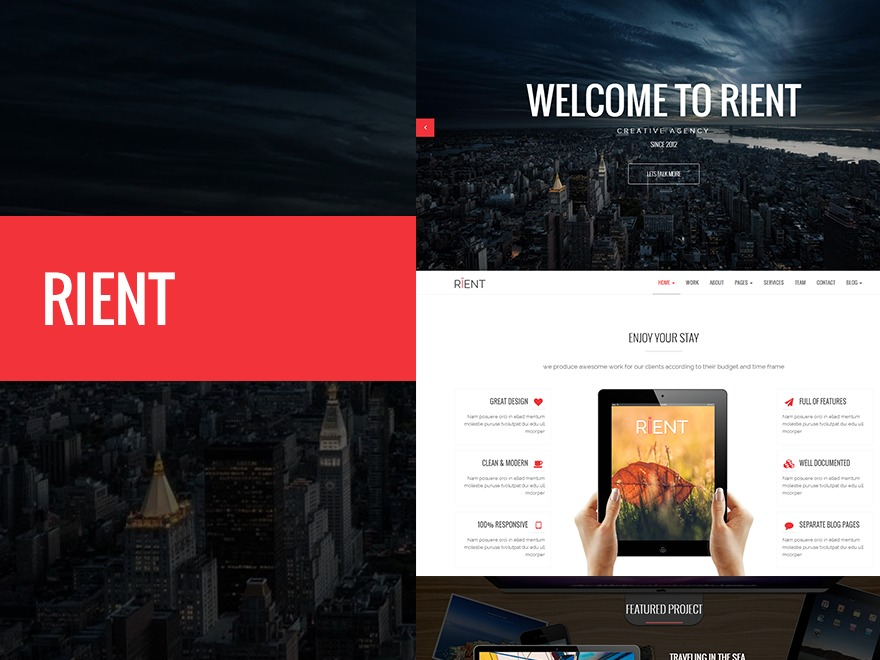 WP template Rient