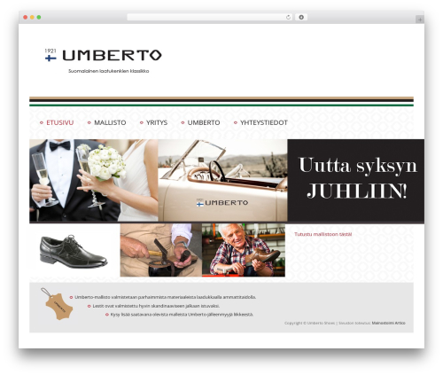 WP template Twenty Eleven - umberto-shoes.com