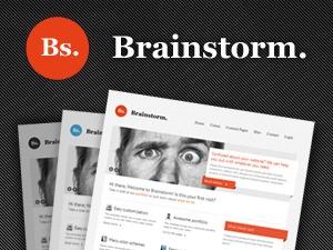 WP theme Brainstorm