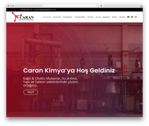 Best WordPress theme Bridge - carankimya.com
