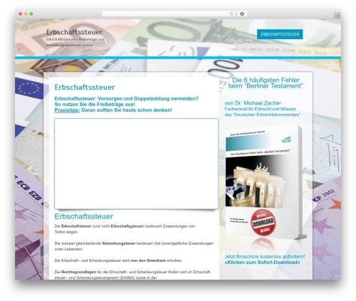 Cell WordPress template free download - erbschafts-steuer.info