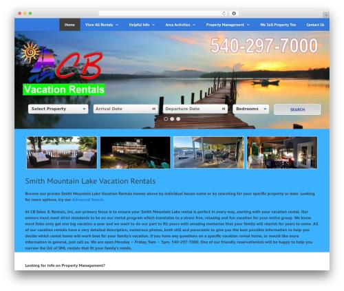 GeneratePress WordPress template free download - cbrentals.com