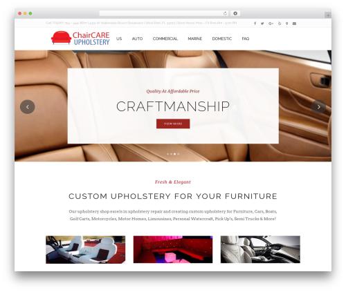Homa WordPress ecommerce theme - chaircareupholstery.com