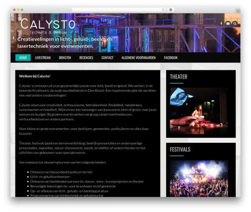 Rock N Rolla free website theme - calysto.nl