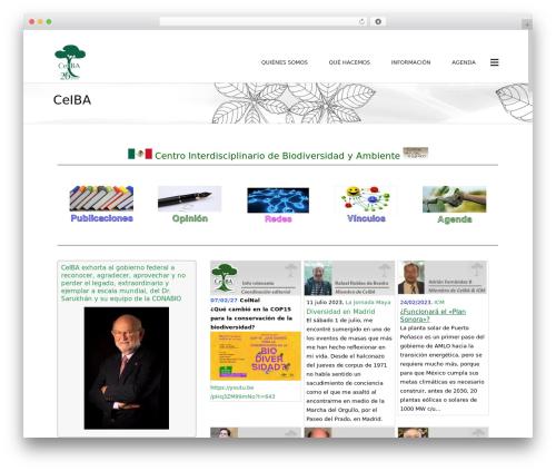 Subway WP template - ceiba.org.mx