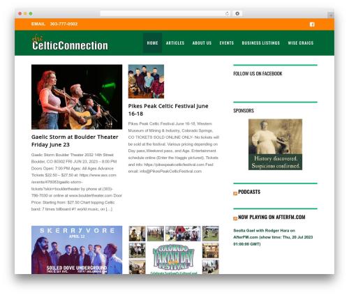 Themify Magazine best WordPress magazine theme - celticconnection.com