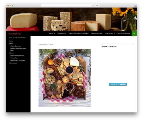 Twenty Fourteen free WordPress theme - cheesyguys.ca