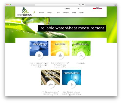 WordPress theme Real Property - en.ecomess.pl