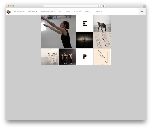 DW Fixel WordPress theme - cie-gramma.aurelieberland.com