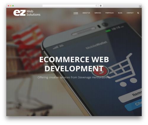 jupiter WordPress shopping theme - ezwebsolutions.co.uk