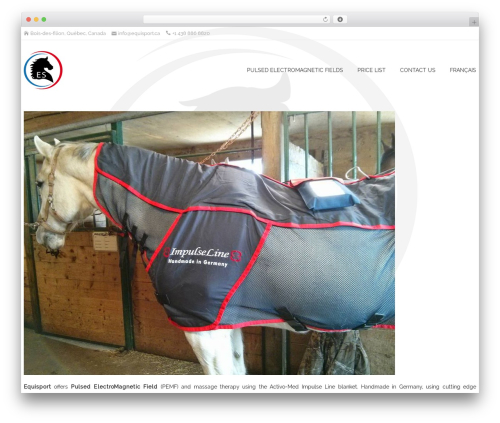 NatureSpace theme WordPress free - equisport.ca