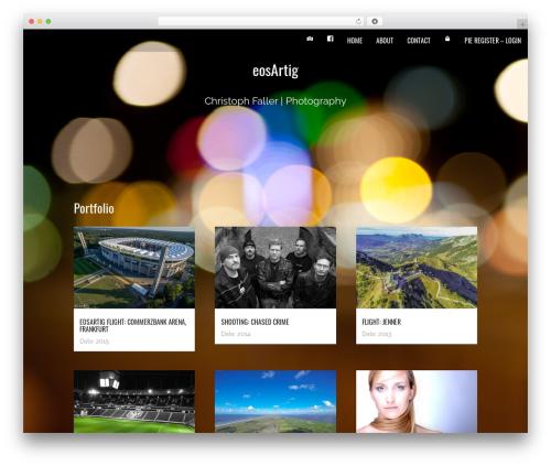 Onesie Pro theme WordPress - eosartig.de