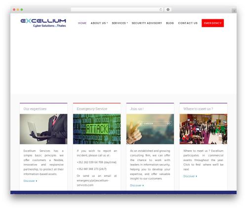 Success best WordPress theme - excellium-services.com