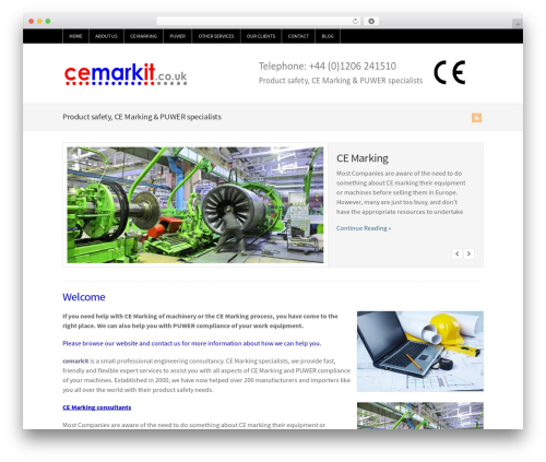Theme WordPress WP-Brilliance - cemarkit.co.uk