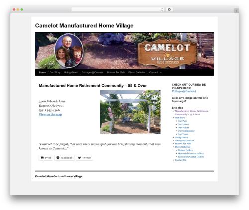 Twenty Ten WordPress theme download - camelotvillage.net