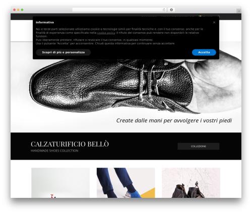 WordPress website template LaBomba - calzaturificiobello.it