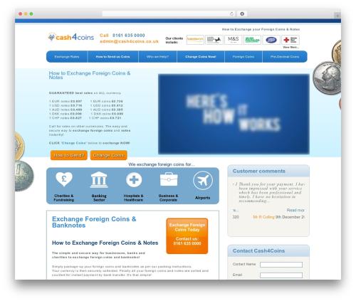 Free WordPress WP Store Locator plugin - cash4coins.co.uk