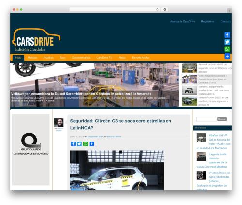 Custom Community free website theme - carsdrive.com.ar