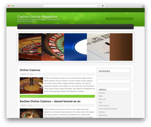 Helios WordPress page template - casinoonlinemagazine.com