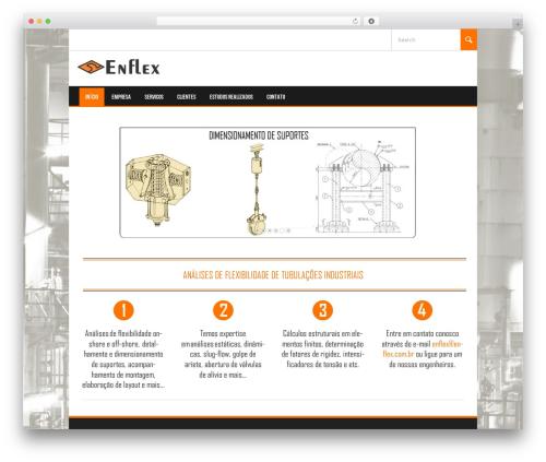 Koenda theme WordPress - enflex.com.br