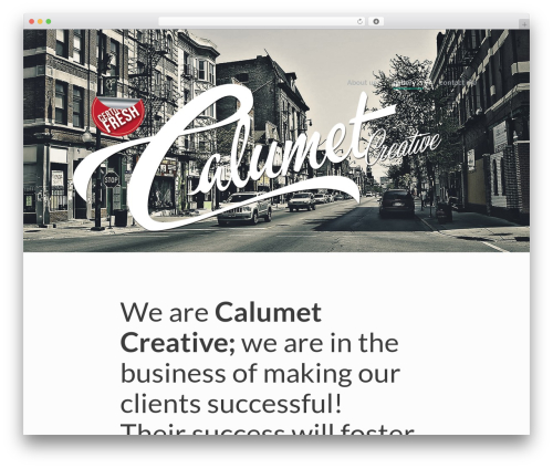 Lion - WordPress Theme WordPress website template - calumetcreative.com