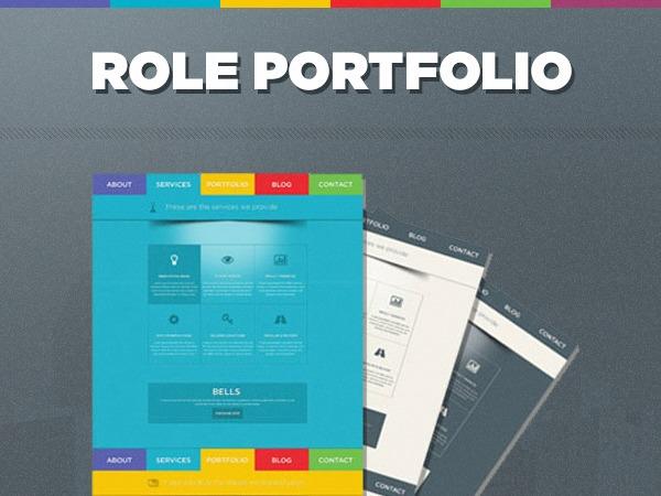 ROLE personal WordPress theme