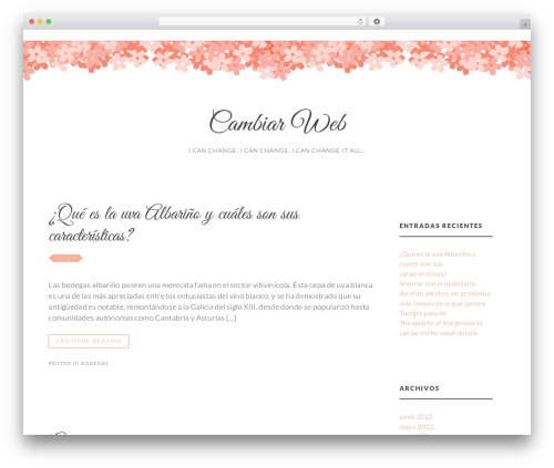 Germaine Free Wordpress Theme By Glam Ink Page 5