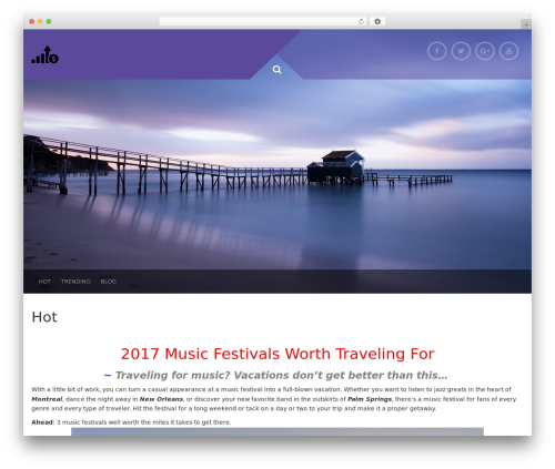 Plum WordPress template free download - crystalvisionproducts.com