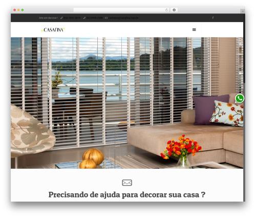 Template WordPress Betheme - casafina.com.br