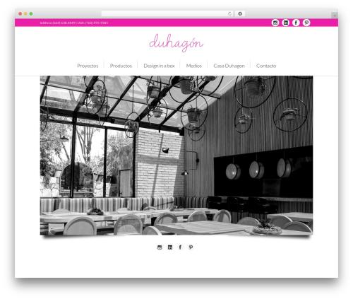 Theme WordPress Lounge - casaduhagon.com