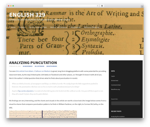 WordPress theme Subtle - eng329.jonostenson.com
