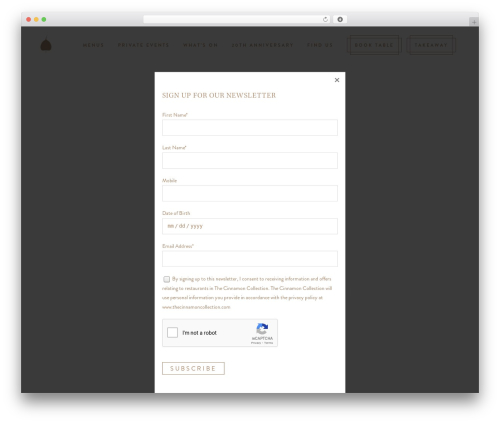 Free WordPress Cookies for Comments plugin - cinnamonclub.com