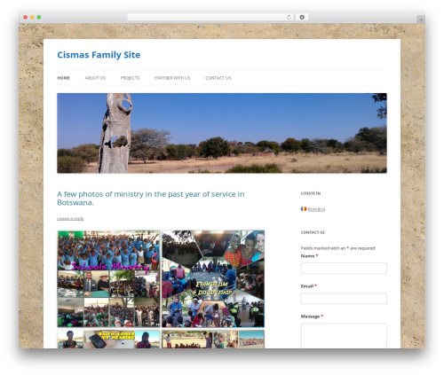 Best WordPress theme Twenty Twelve - cismas.carebotswana.com