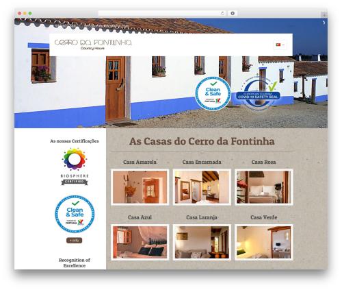 Betheme WordPress theme - cerrodafontinha.com/homepage