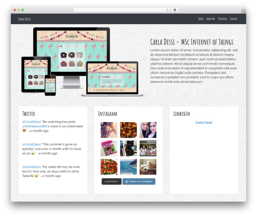 BlankSlate WordPress theme download - carladessi.com