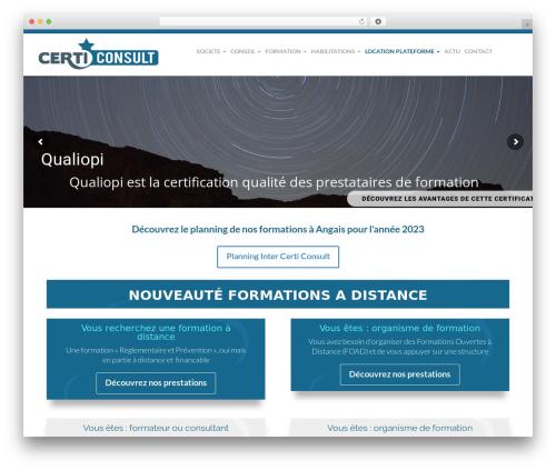 WordPress visual-columns plugin - certiconsult.fr