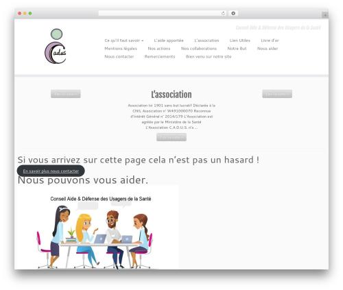 Customizr WordPress theme free download - cadus.fr