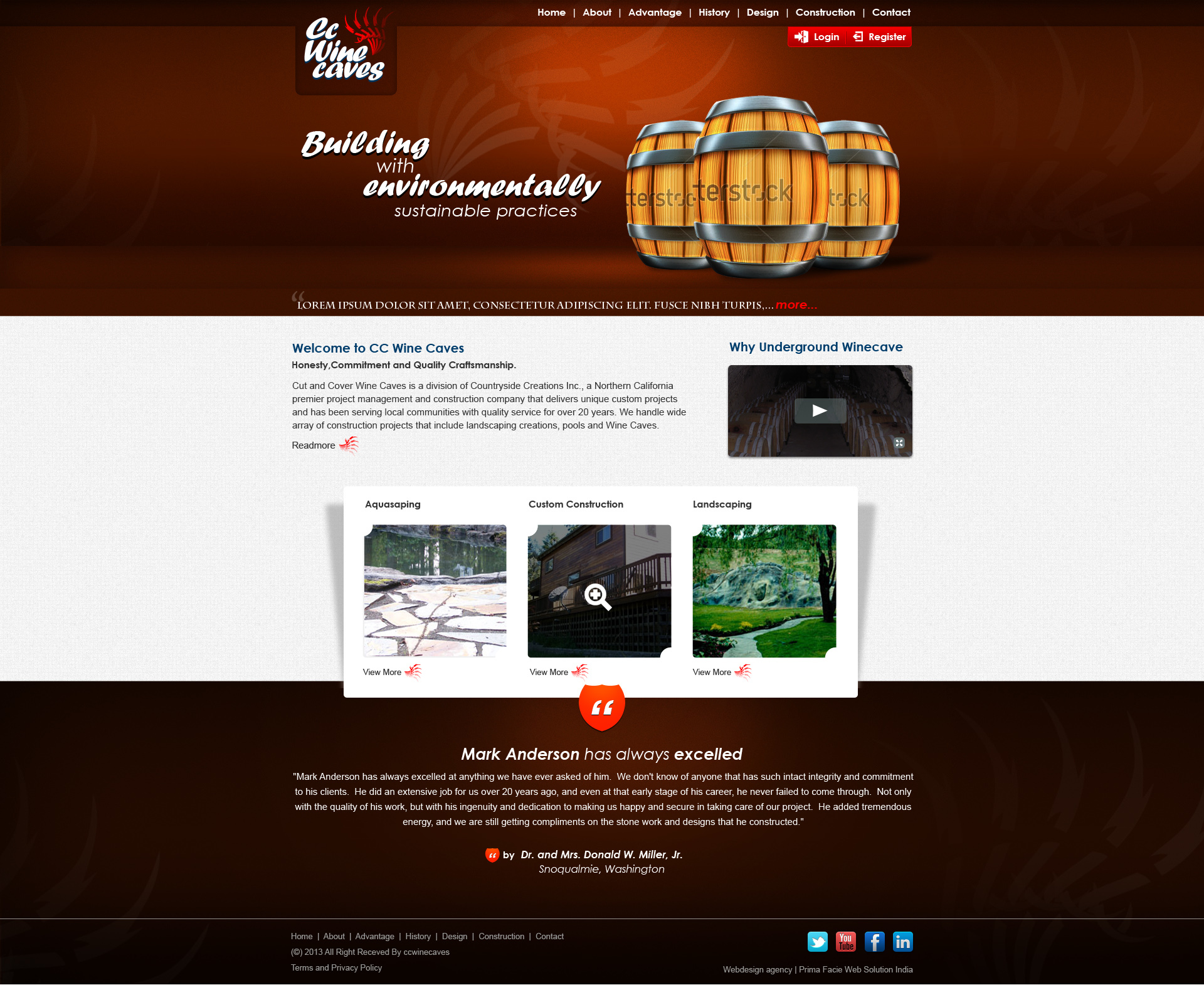 D5 Business Line business WordPress theme