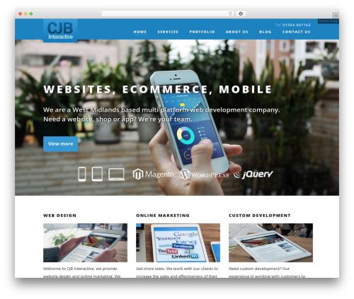 Suite theme WordPress - cjb-i.co.uk