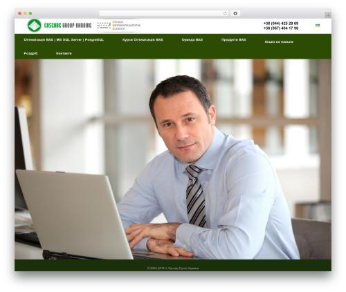Free WordPress TablePress plugin - cascade-group.com.ua
