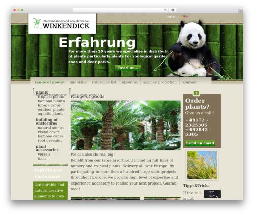 Free WordPress Footer Putter plugin - en.winkendick.eu