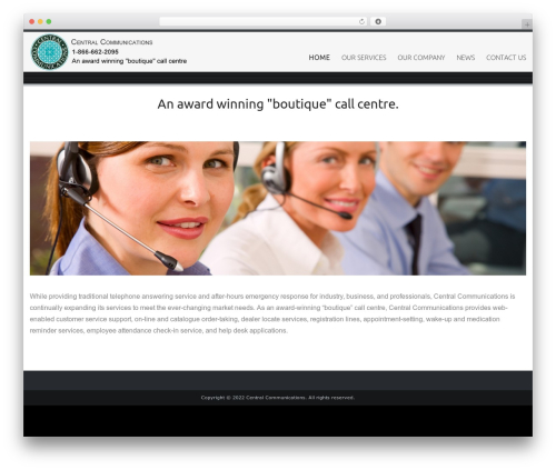 Best WordPress theme Celestial - centralcommunications.ca