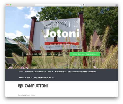 SevenHills template WordPress - campjotoni.org